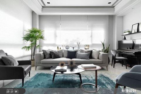 簡約格調 白淨美式宅 新澄設計 黃重蔚
