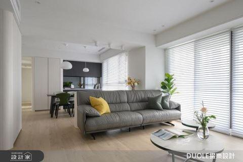 七口的35坪現代宅 滿滿收納讓你意想不到 DUOLE掇樂設計 陳俊列