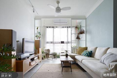 綠植栽陽光暖宅 簡約不單調的清新美感生活 地所設計有限公司 黃郁雁