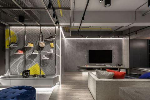 超有個性 街頭運動風也能搬進你家 湜湜空間設計 湜湜設計團隊