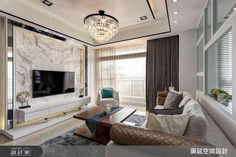 優雅不失大器的新古典豪美宅! 廣延空間設計 陳偉立