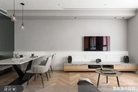 22坪也能擁有高規格的影廳享受 宣棠室內設計 李宜達
