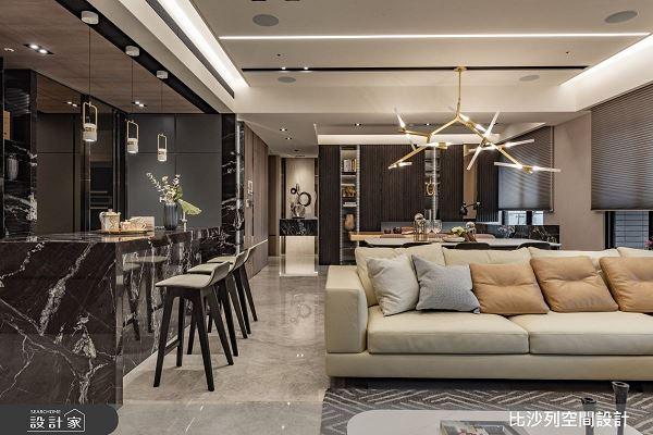 毛胚屋大翻身,給你最豪氣的居家宴席!比沙列空間設計 張靜峰、詹亞儒、溫翠蘋