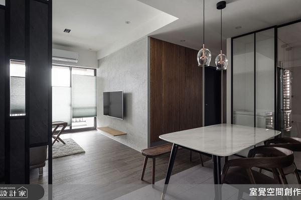 簡約 X 沉穩 15坪的現代感舒適基地 室覺空間創作 王凱躍