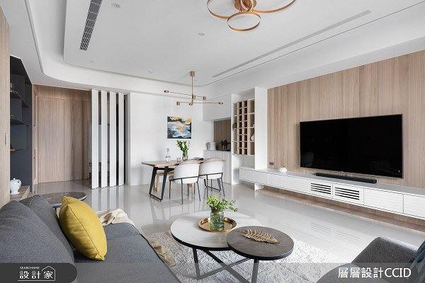 獨享閱讀、瑜珈伸展 盡在80坪璞真新婚宅 層層室內裝修設計有限公司 楊謹安
