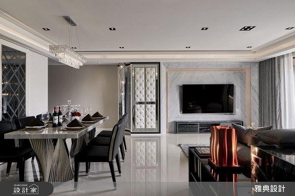 傾注愛意的設計 用愛打造35坪奢華美宅 雅典設計工程有限公司 黃庭芝