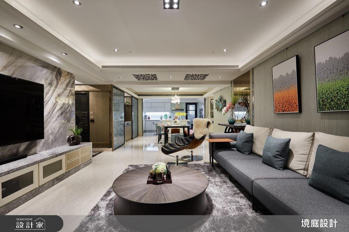 空間解壓縮 精品混搭締造飯店Lobby+總統套房 境庭室內裝修工程有限公司 周靖雅