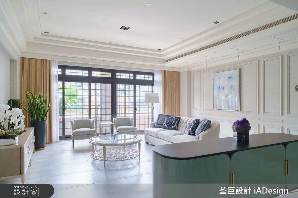 35坪陽光雅緻宅,簡約的新古典也可以很迷人!荃巨設計 iADesign 楊禾聿