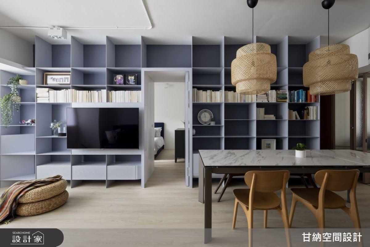 想像生活的模樣!中古屋變三口現代宅 甘納空間設計 林仕杰、陳婷亮