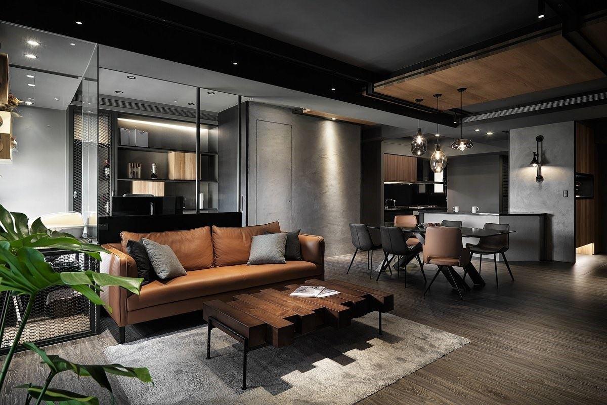 Loft 中的暖意 兩人三貓的向陽宅邸 星葉室內裝修設計 林峰安 (三年保固)