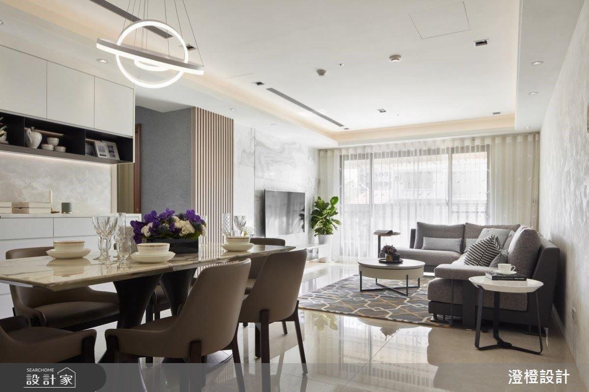 明亮現代居宅 給你飯店式的享受 澄橙設計 陳光哲、陳若雲、楊重志