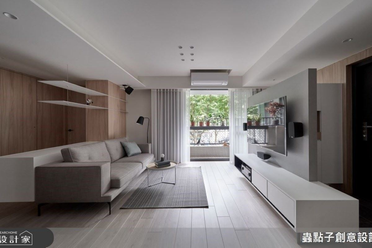 老屋活化再綠化!與暖陽綠景相伴的北歐宅 蟲點子創意設計 鄭明輝