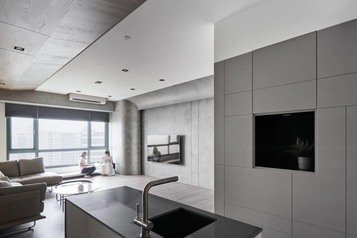 20年老屋蛻變湛藍記憶的現代美宅 構設計 楊子瑩
