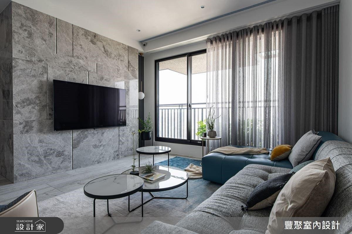 陽光伴隨每一刻,注重安全的通透感居宅!豐聚室內設計 黃翊峰、李羽芝