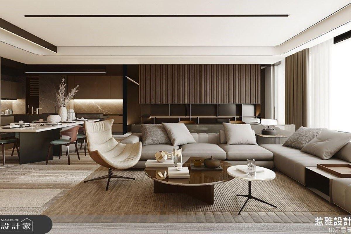 開放格局細膩講究 44坪優雅精緻通透之所 惹雅國際設計 張凱