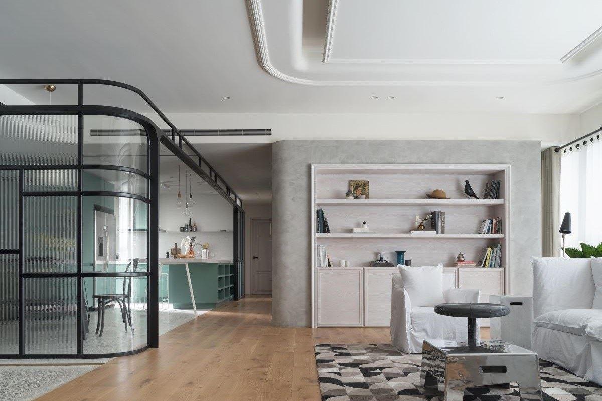 新古典混搭風 嶄新時尚住宅個性 KC design studio 均漢設計 曹均達、劉冠漢
