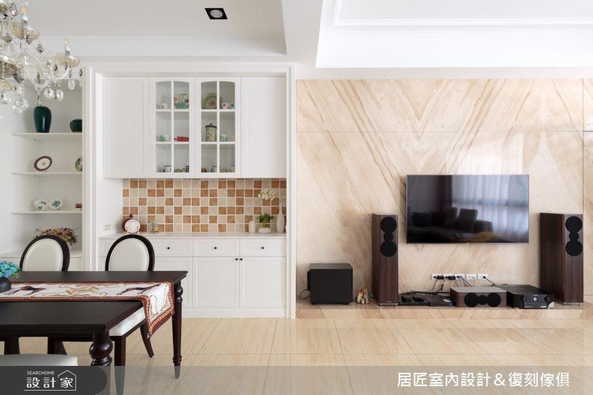 美式風情的透天別墅 處處皆是特色小亮點 居匠室內設計 楊智鈞
