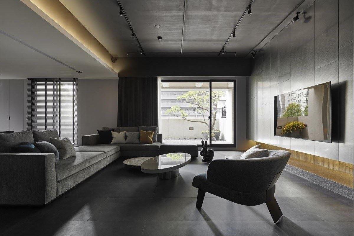 輕工業風的細膩溫柔 自然愜意的新豪宅典範 尚藝室內設計 俞佳宏