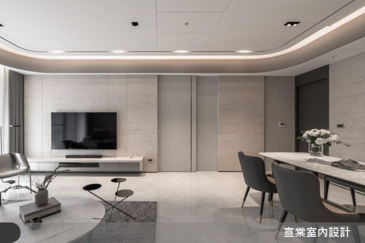 重整格局 實現理想生活的純淨暖調宅邸 宣棠室內設計 李宜達