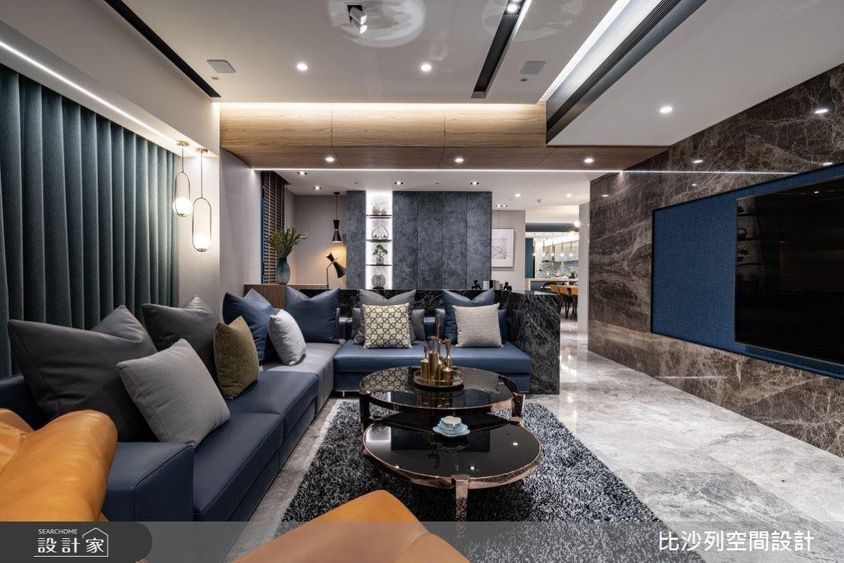 完美細節成就尊貴豪宅 異材質綻放時髦風華 比沙列空間設計 張靜峰、詹亞儒