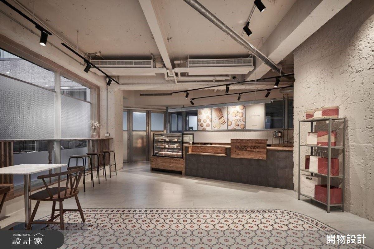 暖色系刷新老屋面貌 質樸雅致的天然烘培廚房!開物設計 楊竣淞、羅尤呈