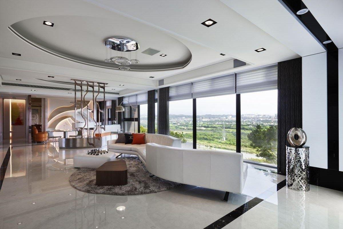 360度美景環繞 弧形曲線創造會流動的家 奇典設計 葉希文、羅淑薇