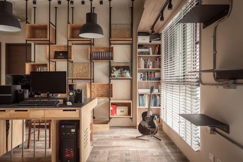 為你的獨特存在 舒放材質百變宅寓 丰墨設計 王憲川