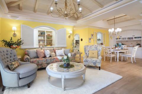 復刻南法亞維儂的浪漫上質美學 摩登雅舍室內設計 汪忠錠、王思文