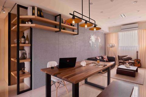 細節鋪陳休閒風 小資族品味好宅 趙玲室內設計有限公司 趙玲、呂學宇