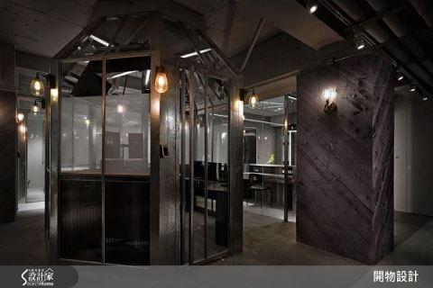 鍍鋅鐵勾勒 天馬行空的辦公室 開物設計 楊竣淞、羅尤呈