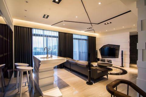 雙拼渡假宅 為生活道出雙重滋味 震騰室內裝修設計工程有限公司 李家偉