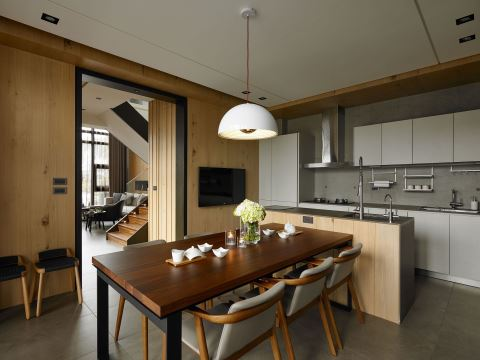 凝聚歡笑幸福 擁抱大自然的度假宅 宣棠室內設計 李宜達