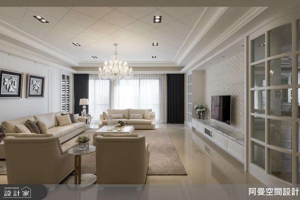 美式柔和的溫馨家居 白雪公主般的城堡 阿曼空間設計 王光宇