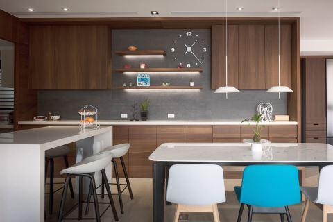 療癒色彩打造獨特現代風格宅邸 豐聚室內設計 黃翊峯、李羽芝