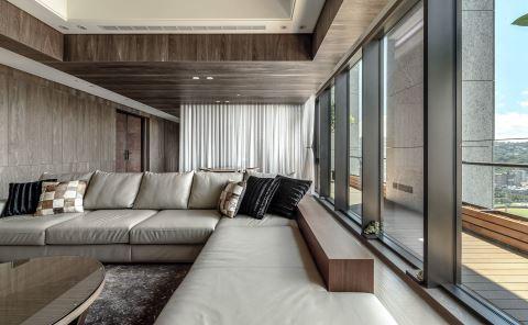 大器休閒現代禪風 貫穿舒適度假宅邸 觀林設計 黃傳林