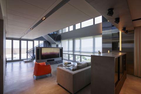 超廣角視覺饗宴 自然X室內的空間軸線 大雄室內設計Snuper Design 林政緯