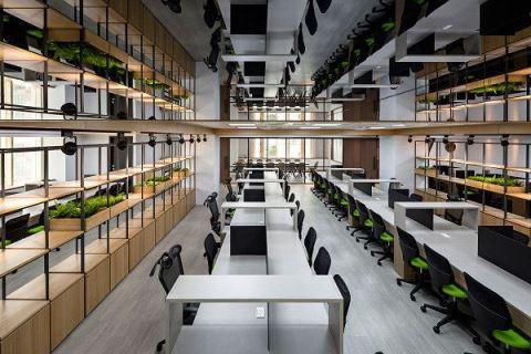 自然清新與驚艷視覺混搭!好心曠神怡的辦公空間! 楊允幀空間設計 楊允幀