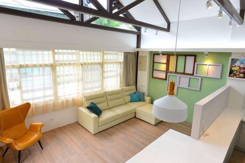 住了70年的老宅  居然變身為斜屋頂現代宅! 絕享設計 絕享設計團隊