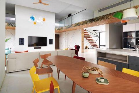 【Promote】用無樑板建築 圓了自地自建尋根夢 賀澤室內裝修設計 張益勝