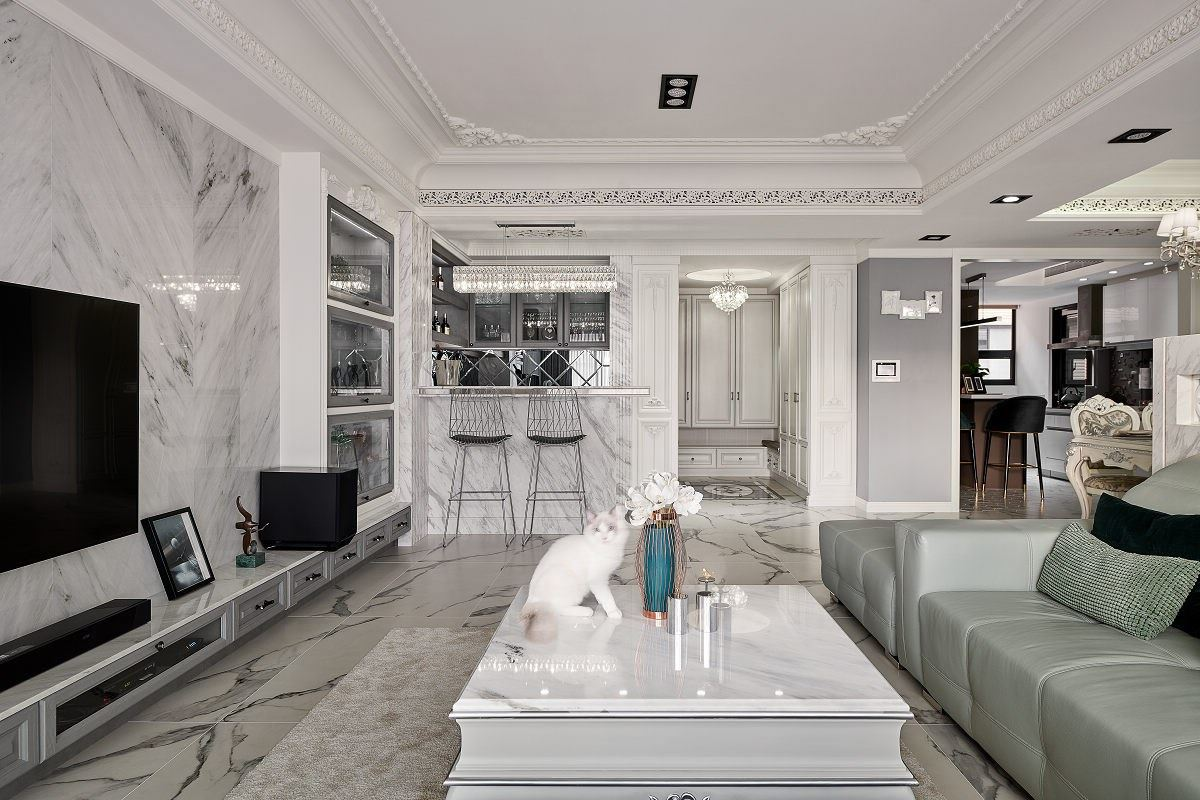 【Promote】優雅輕古典 48坪像68坪的坪效激增放大術 藝谷空間設計 張芷融