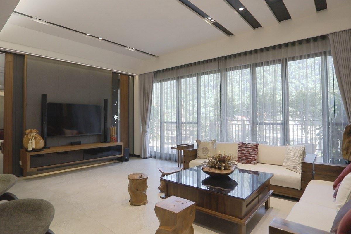 【Promote】森林浴中的夢幻美人湯 120坪豪華現代度假宅 帝品設計 林永森