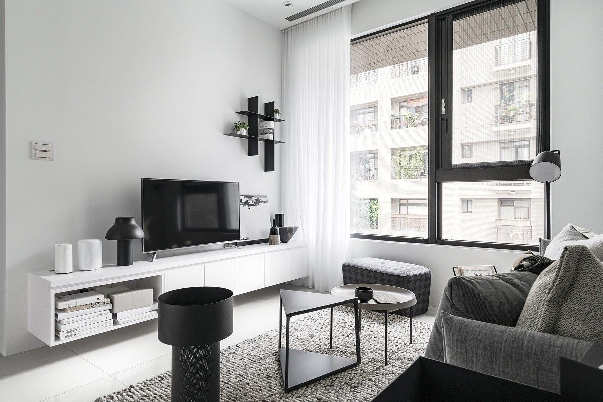 【Promote】黑白極簡風 全室白的家其實最好維護?!文儀室內裝修設計有限公司 李紹瑄