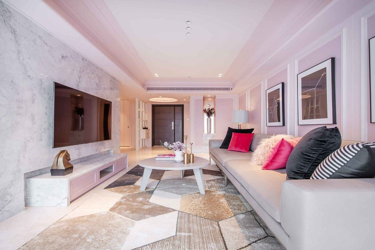 【Promote】粉色古典風 甜而不膩的優雅度假宅 晟角制作設計 林昌毅