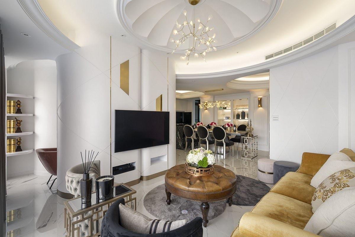【Promote】穹頂下璀璨築夢 法式新古典高級訂製美宅 築夢室內設計 羅芳銘