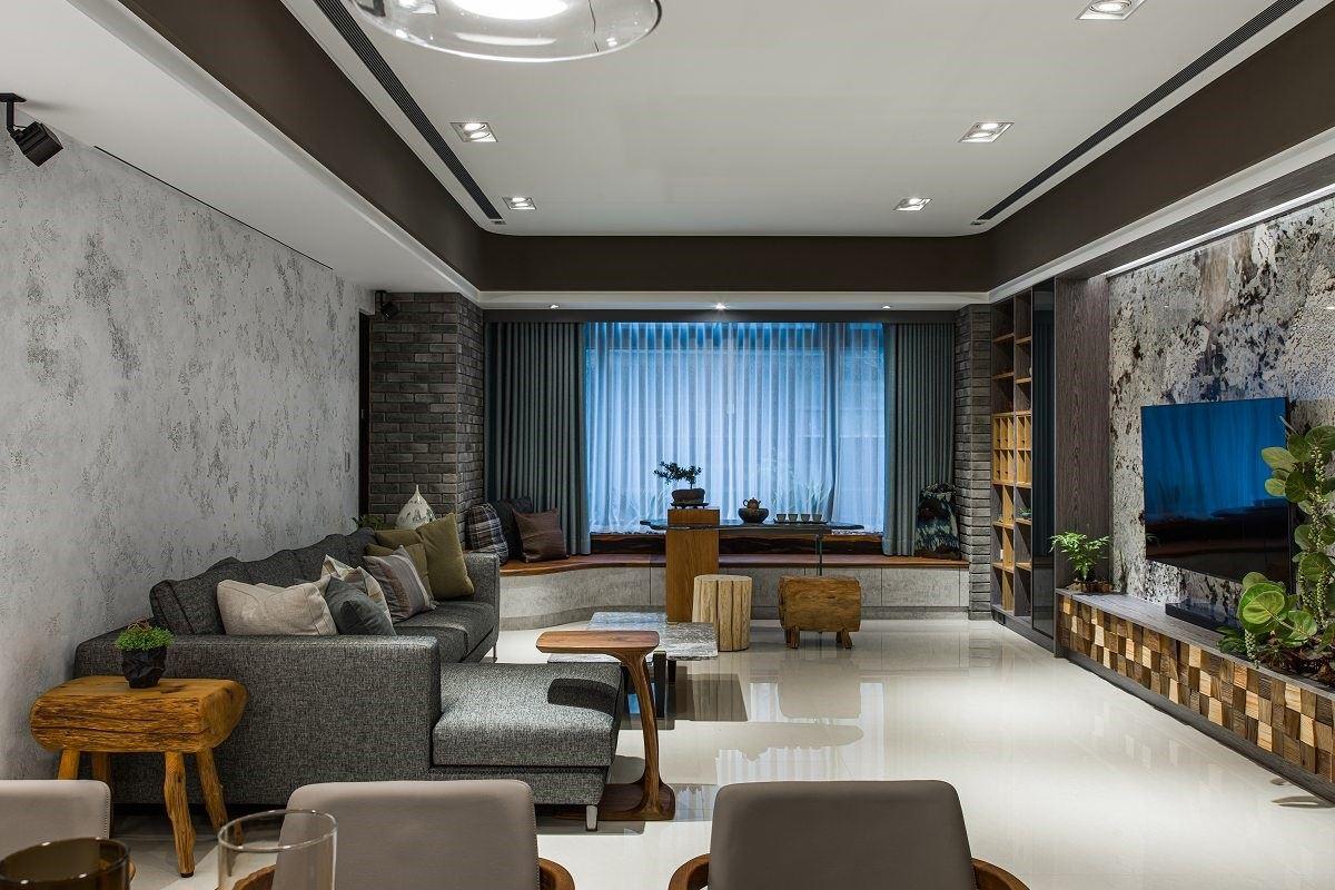 【Promote】大隱於市!現代陶淵明的室內花園療癒宅 品楨空間設計 陳膺信