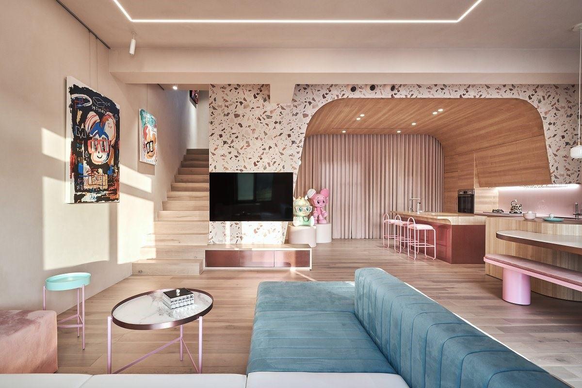 【Promote】貓咪的夢幻希臘假期 粉色藝術混搭別墅 KC design studio 均漢設計 曹均達、劉冠漢