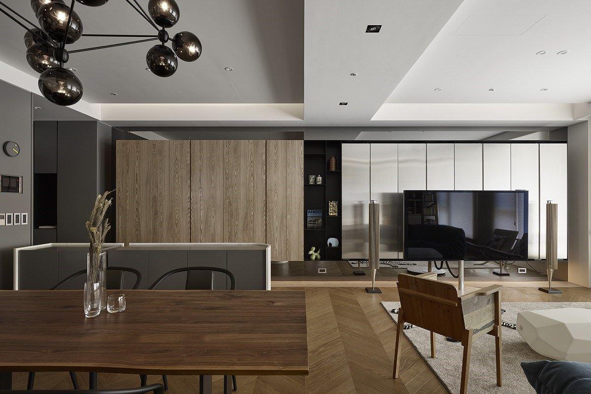 【Promote】精品質感×強大收納 現代宅串連三口好時光 諾禾空間設計 張家翰、謝崇孝