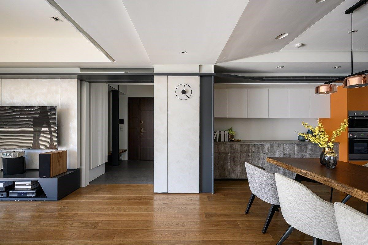 【Promote】客廳擺脫沙發&佛堂祥和靜謐 超療育系時尚親子宅 丰墨設計 王憲川
