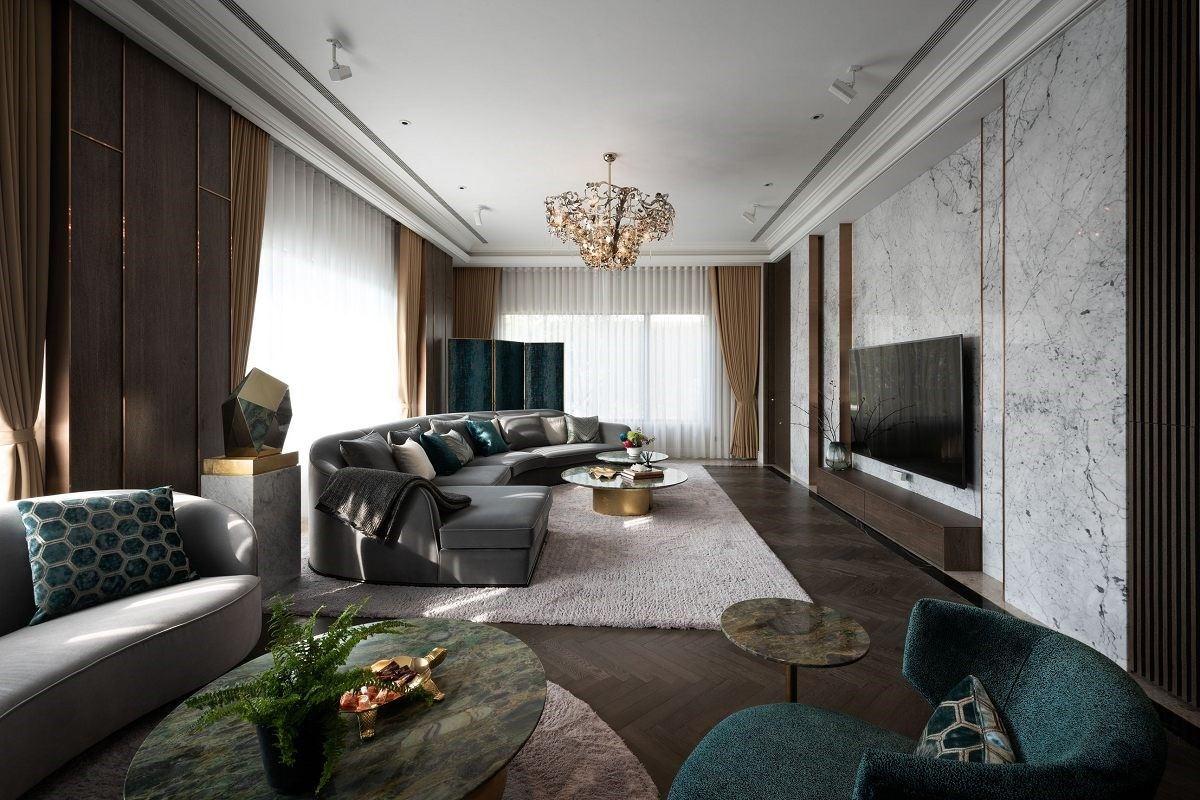 【Promote】精工板材大躍進!客製180坪新古典豪邸夢 伸保系統傢俱設計 伸保系統傢俱設計團隊