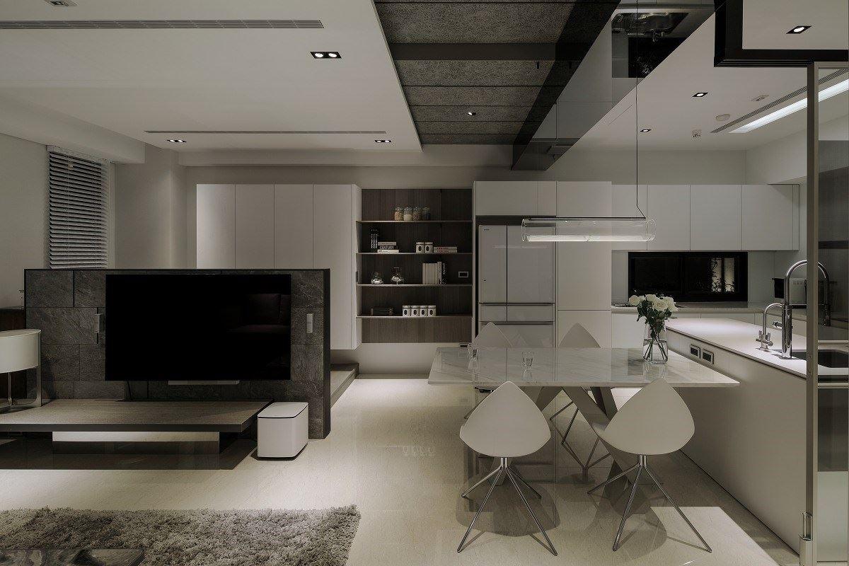 【Promote】細節藏在設計裡 一家四口的簡約質感別墅 舨舍空間設計 顏善松